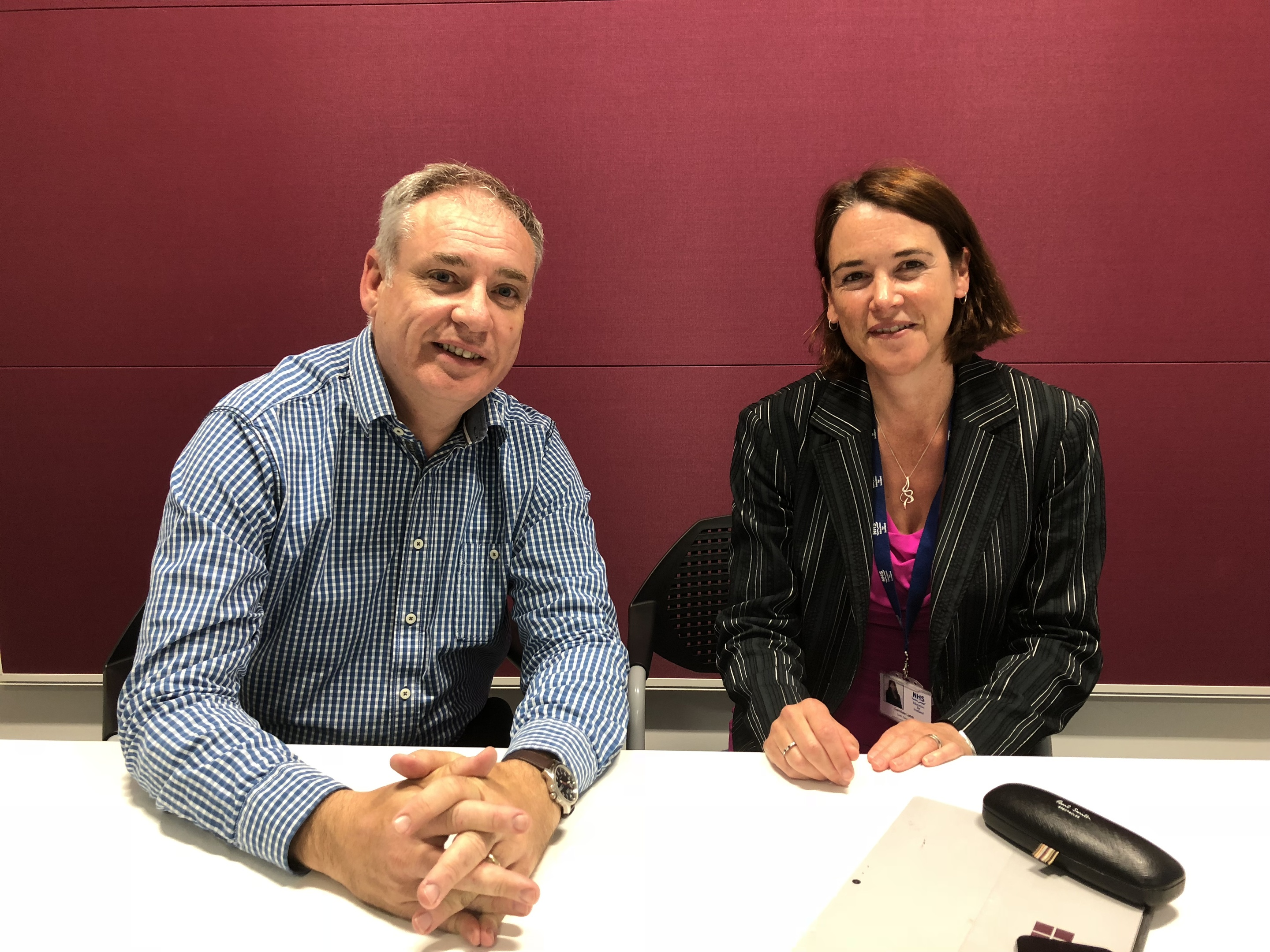 Richard Lochhead met with Caroline Lamb, the chief executive of NHS Education for Scotland (NES).