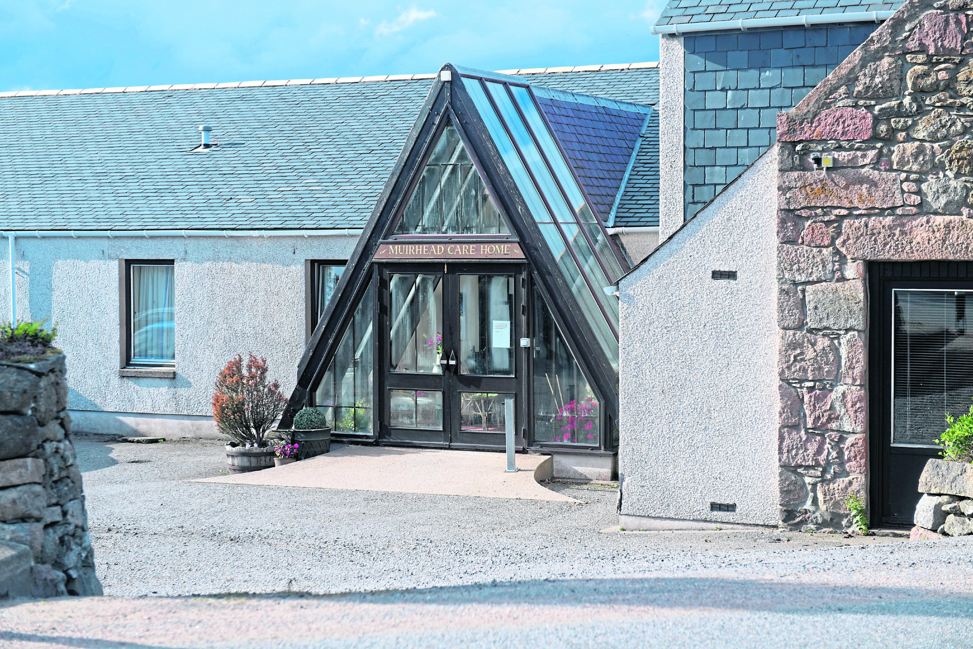 Muirhead Care Home, near Alford.