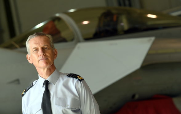 The RAF's Chief of the Air Staff, Sir Stephen Hillier.