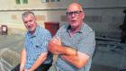 Taxi drivers Gary Johnson and Mike Hayward. Susy MacAulay
