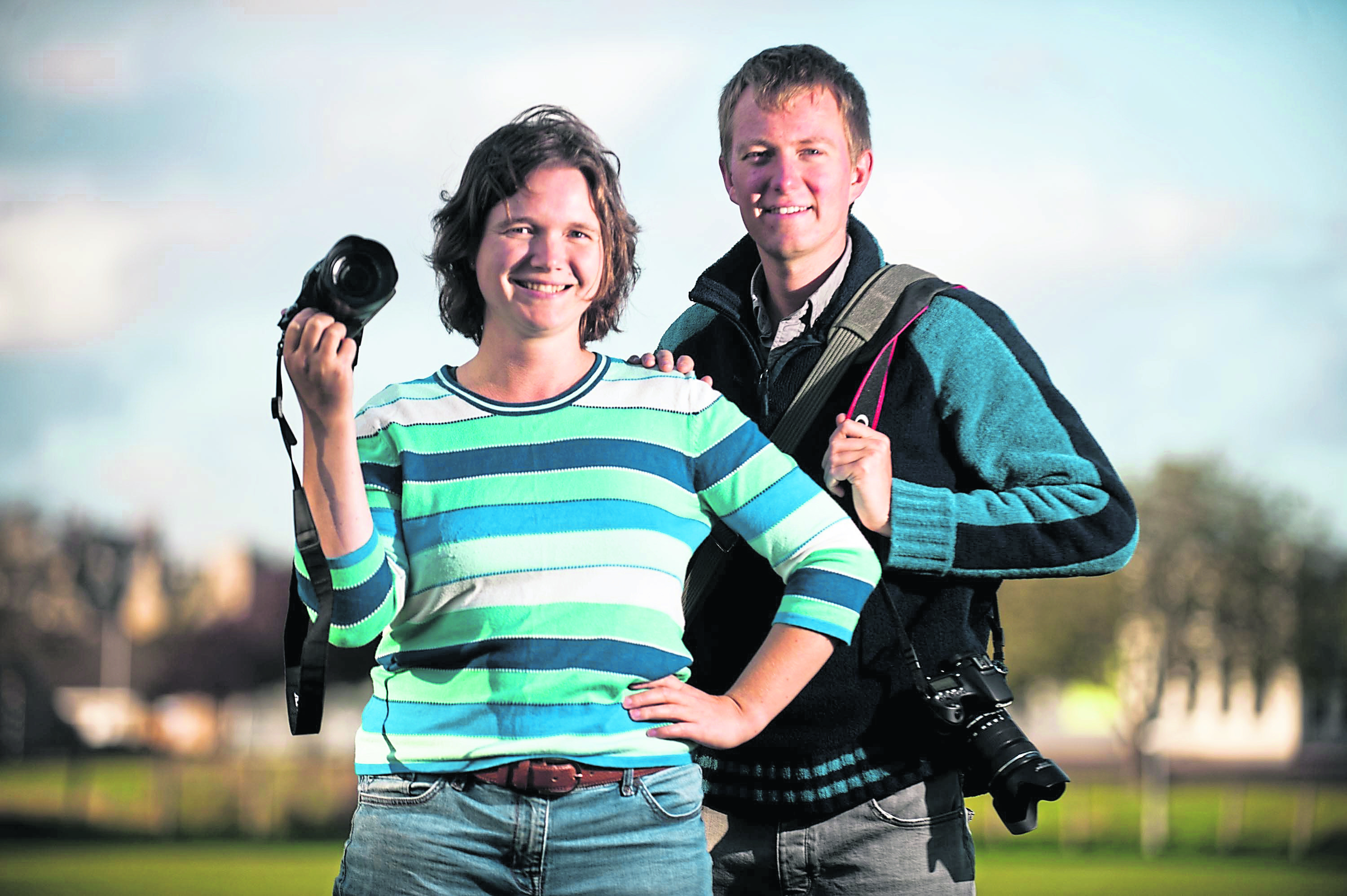 Business start ups in Moray currently have the best-ever success rate after three years. Photography firm Flying Mirrors in Forres, run by Alex Wright and Sara Brockbank, were set up three years ago.