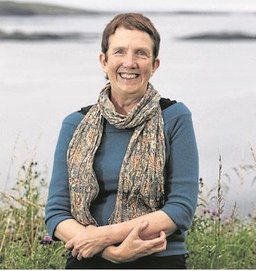 Ann Cleeves in Sandwick, Shetland