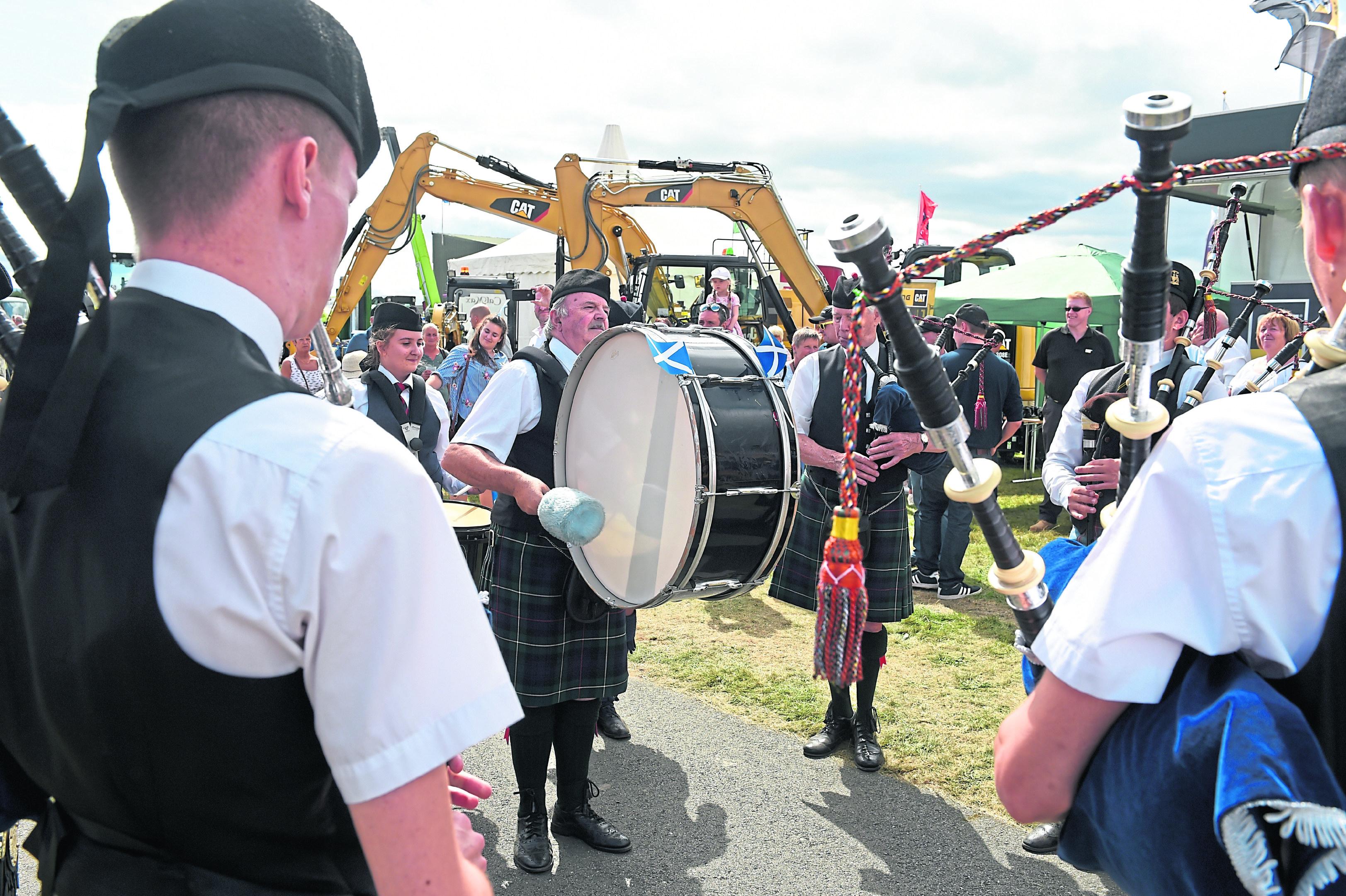 Dingwall Royal British Legion pipe band