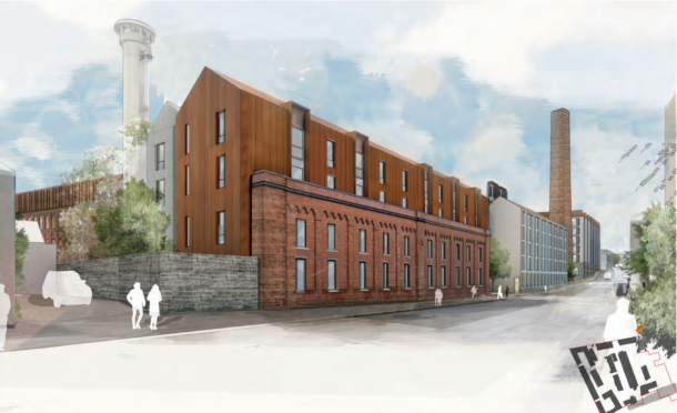 Included in the proposals are plans to revitalise the Hutcheon Street side of the Broadford Works site