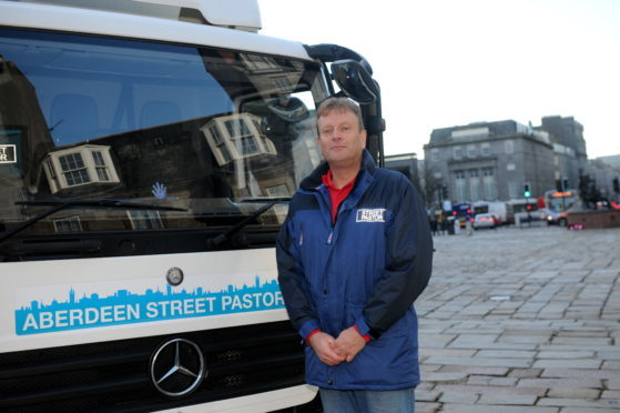 Street Pastor Gerry Bowyer