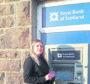 Rita Campbell at Castlebay RBS.