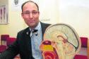 Professor Sam Eljamel, a top Tayside brain surgeon, based at Ninewells Hospital, Dundee.