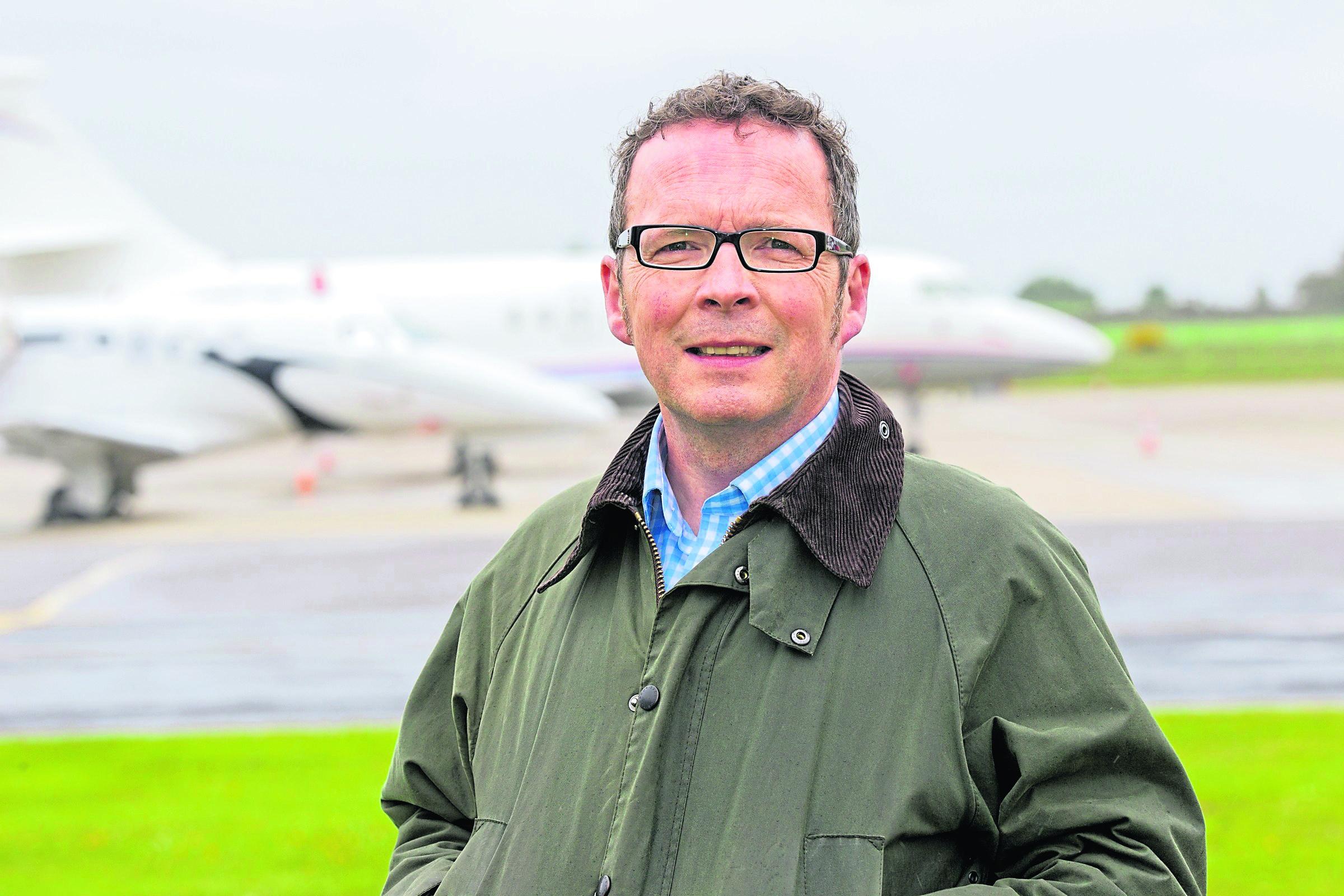 Highlands and Islands Airports Ltd managing director Inglis Lyon