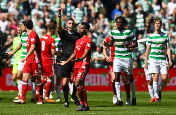Shay Logan was dismissed after the win over Celtic at the end of last season.