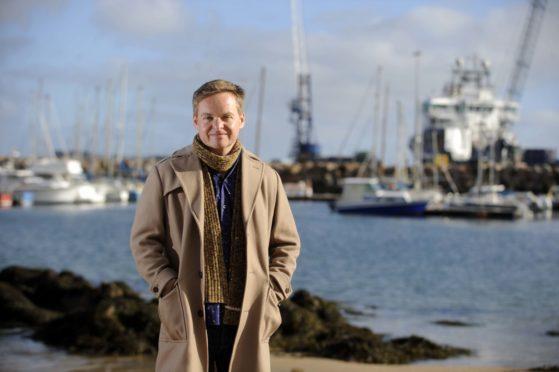 Peterhead's Jon Baird is the guest at a Director's Cut event at Aberdeen University.