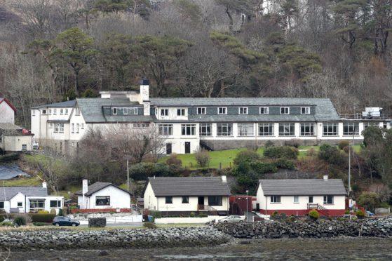 Portree Hospital in Skye.