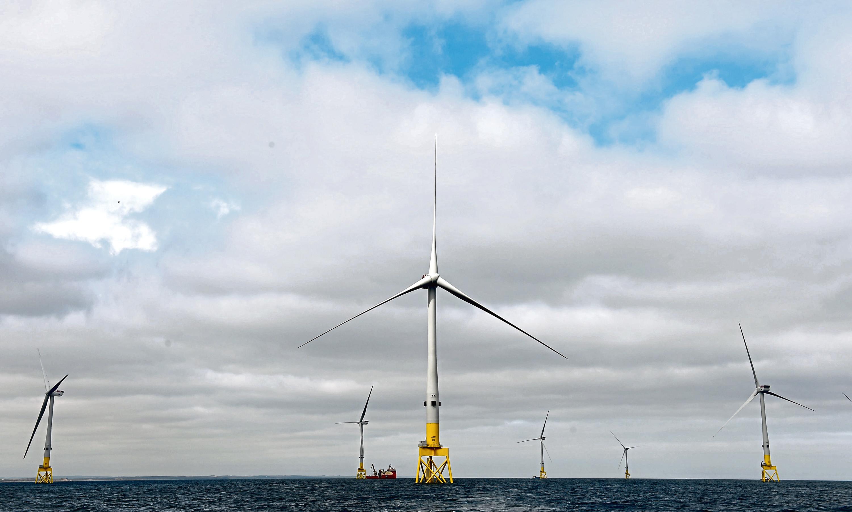 Vattenfall's Aberdeen bay windfarm