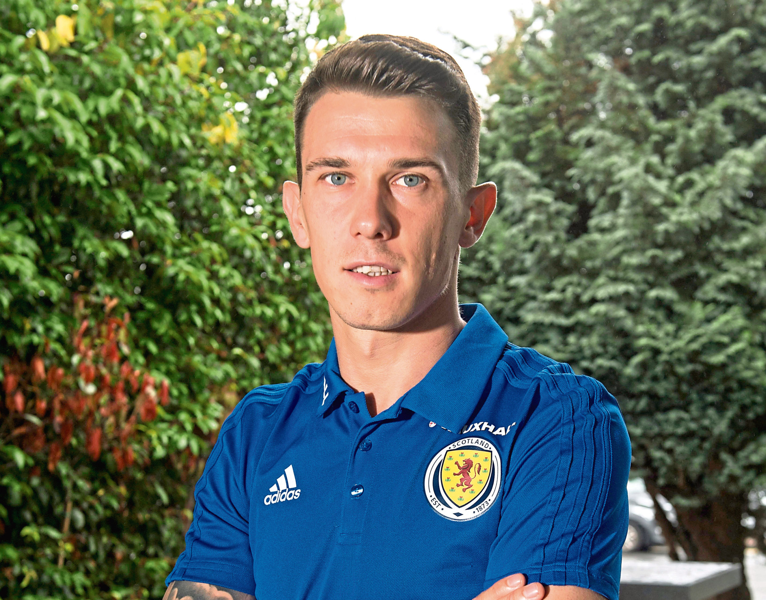 Ryan Jack is delighted to have received the Scotland call.