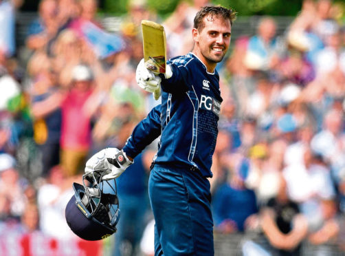 Scotland's Calum MacLeod hit a sensational 140 against England in 2018.