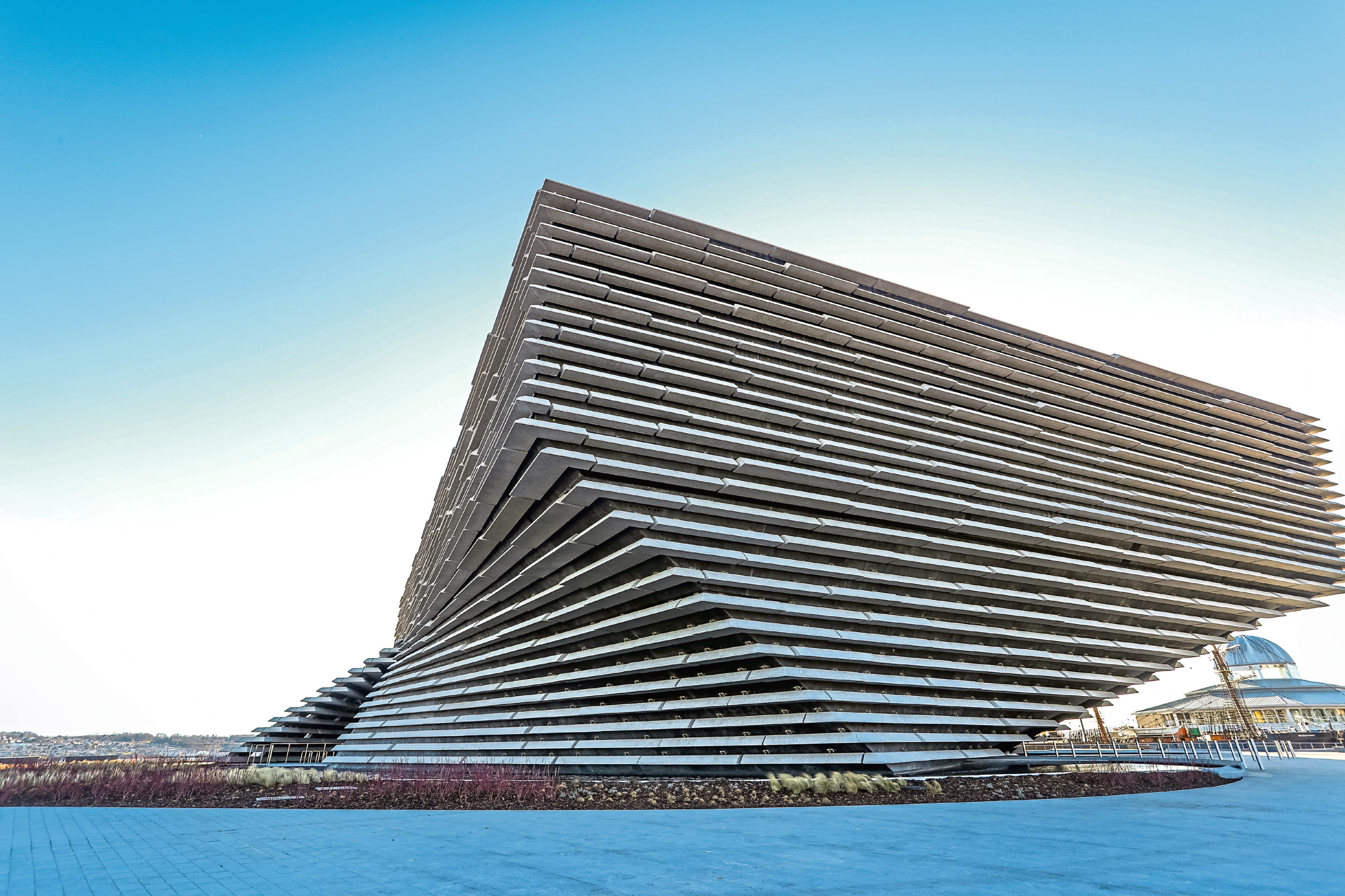 STOCK IMAGE: The V & A Museum, Dundee - Friday 9 February 2018