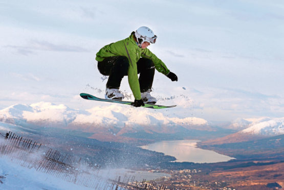 Chris OBrien, , CEO of Nevis Range Mountain Experience