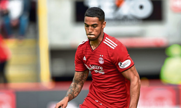 Max Lowe has made 42 appearances for the Dons this season.