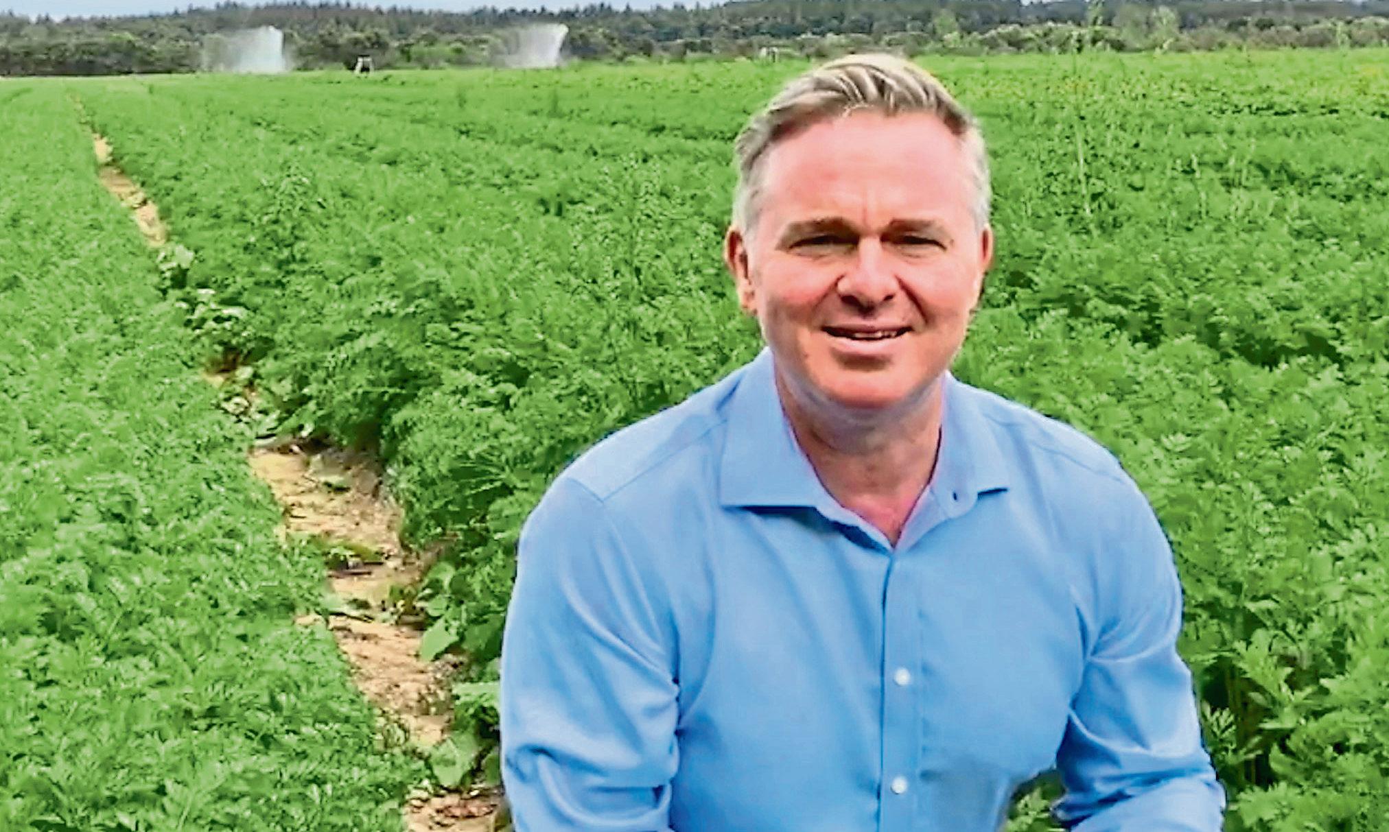 Colin Clark MP.