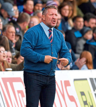 Inverness manager John Robertson