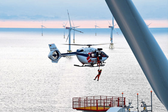 Airbus Helicopters is targeting the offshore wind market  submitted pic