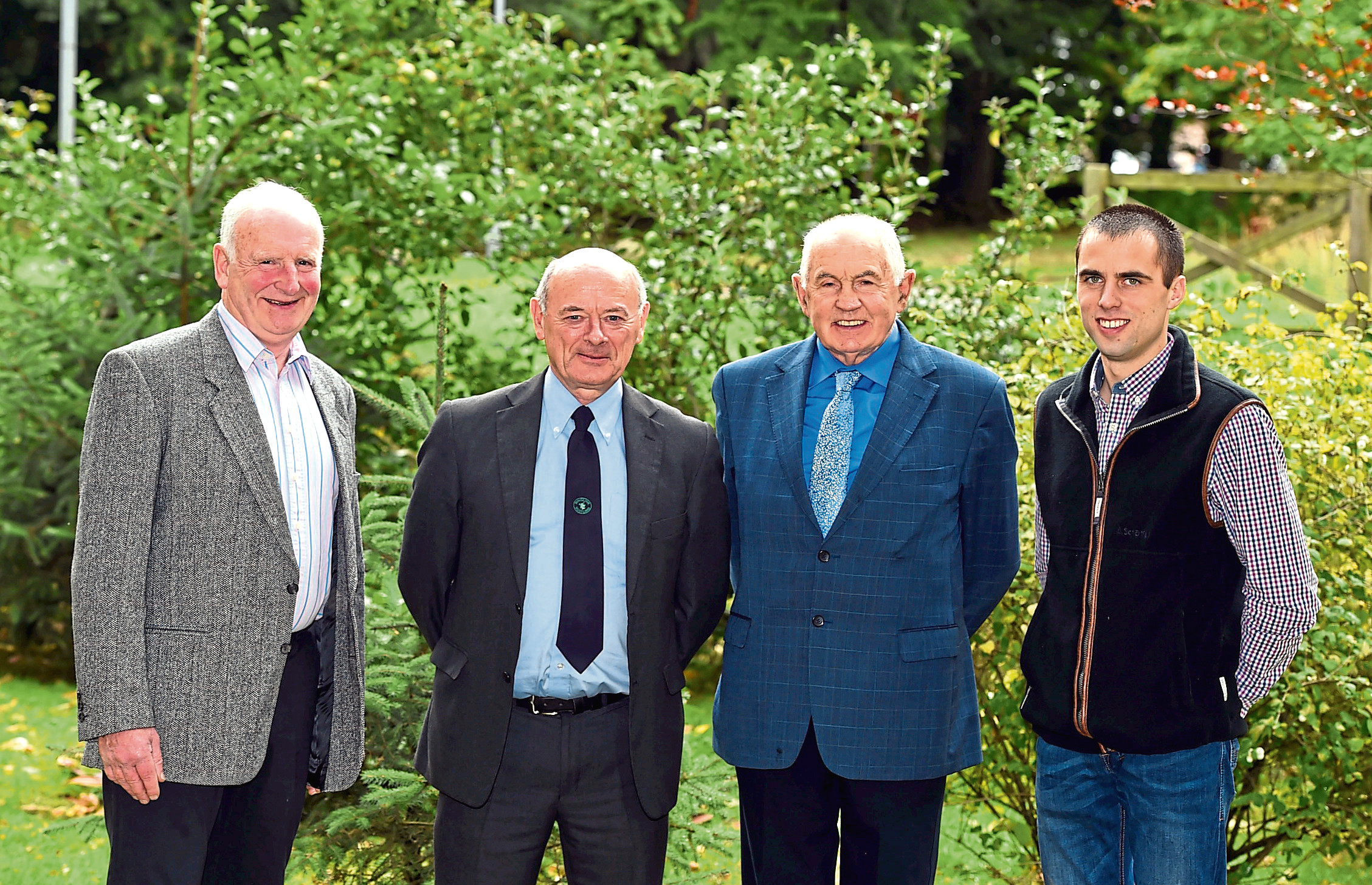 James Buckingham, Graham Bruce, David Smith and Stuart Duncan.