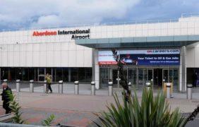 Aberdeen International Airport .