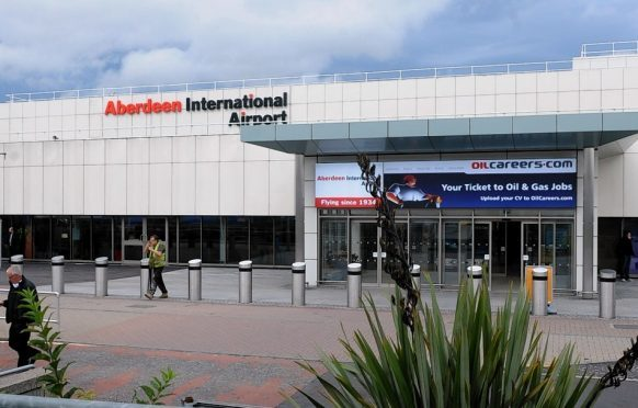 Aberdeen International Airport .