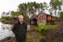 Brian Higgs at Loch of Blairs.