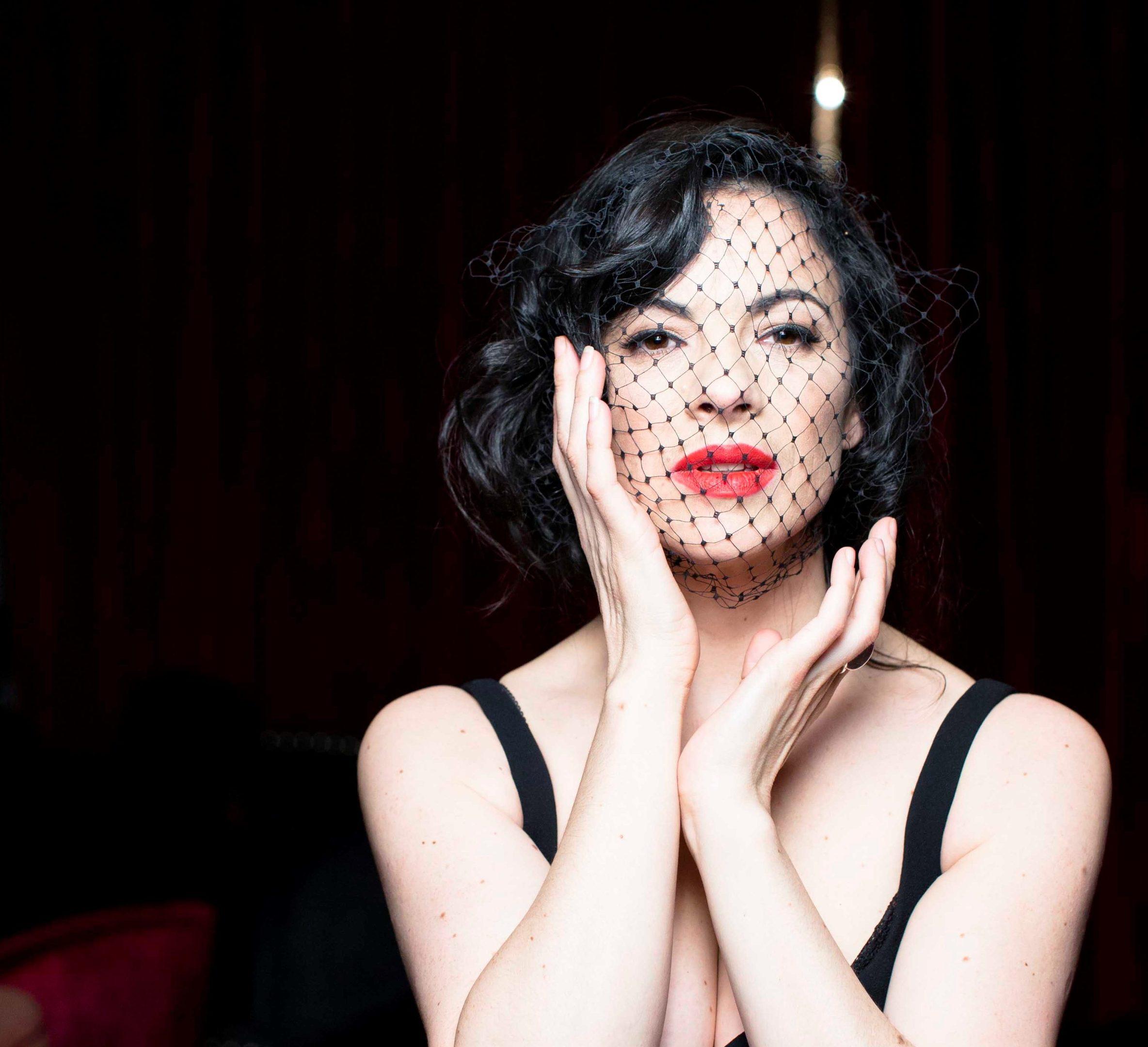 Irish musician, vocalist and actress Camille O'Sullivan.