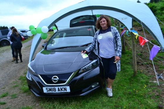 Dr Susan Taylor at the Morvern Highland Games.