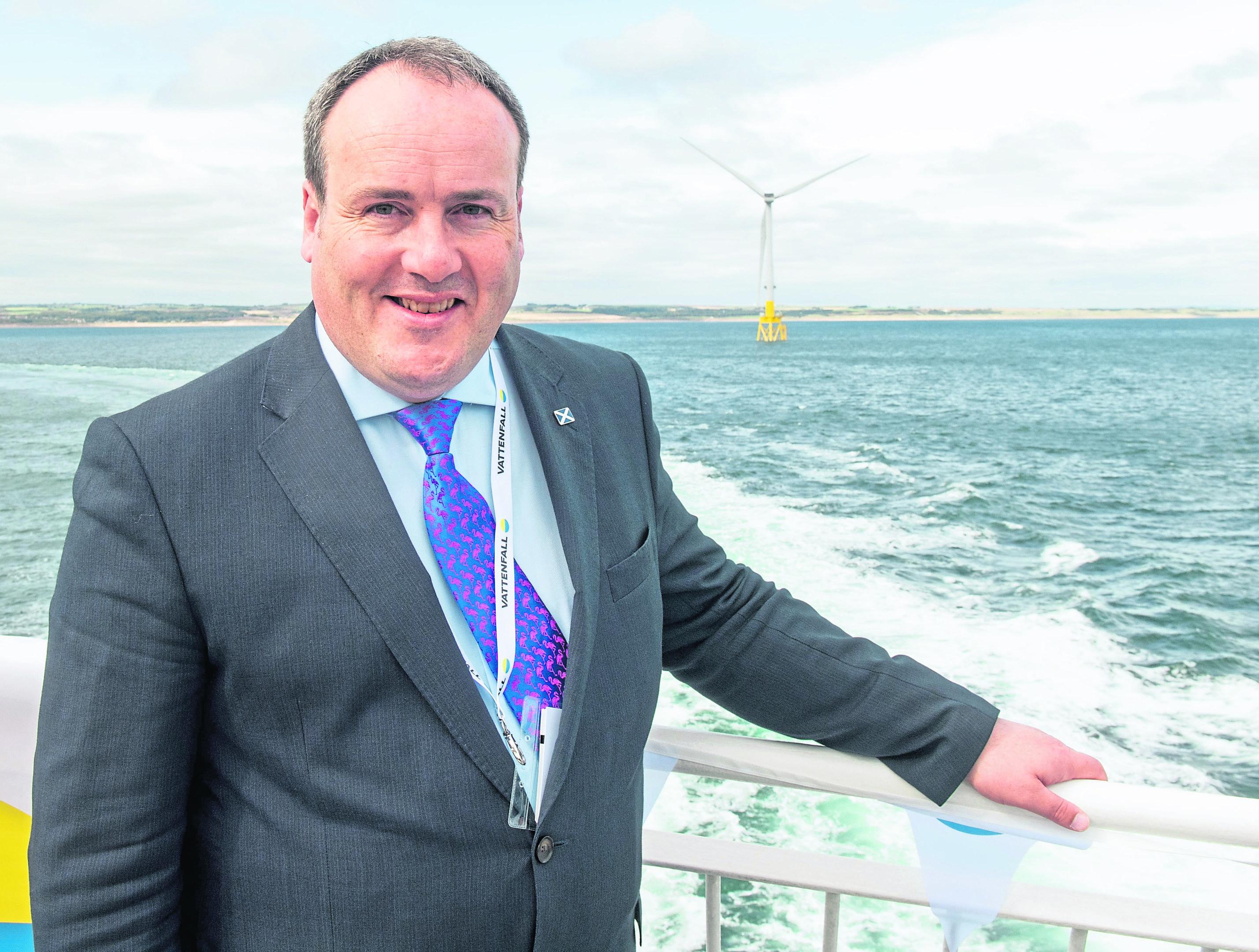 Islands Minister Paul Wheelhouse