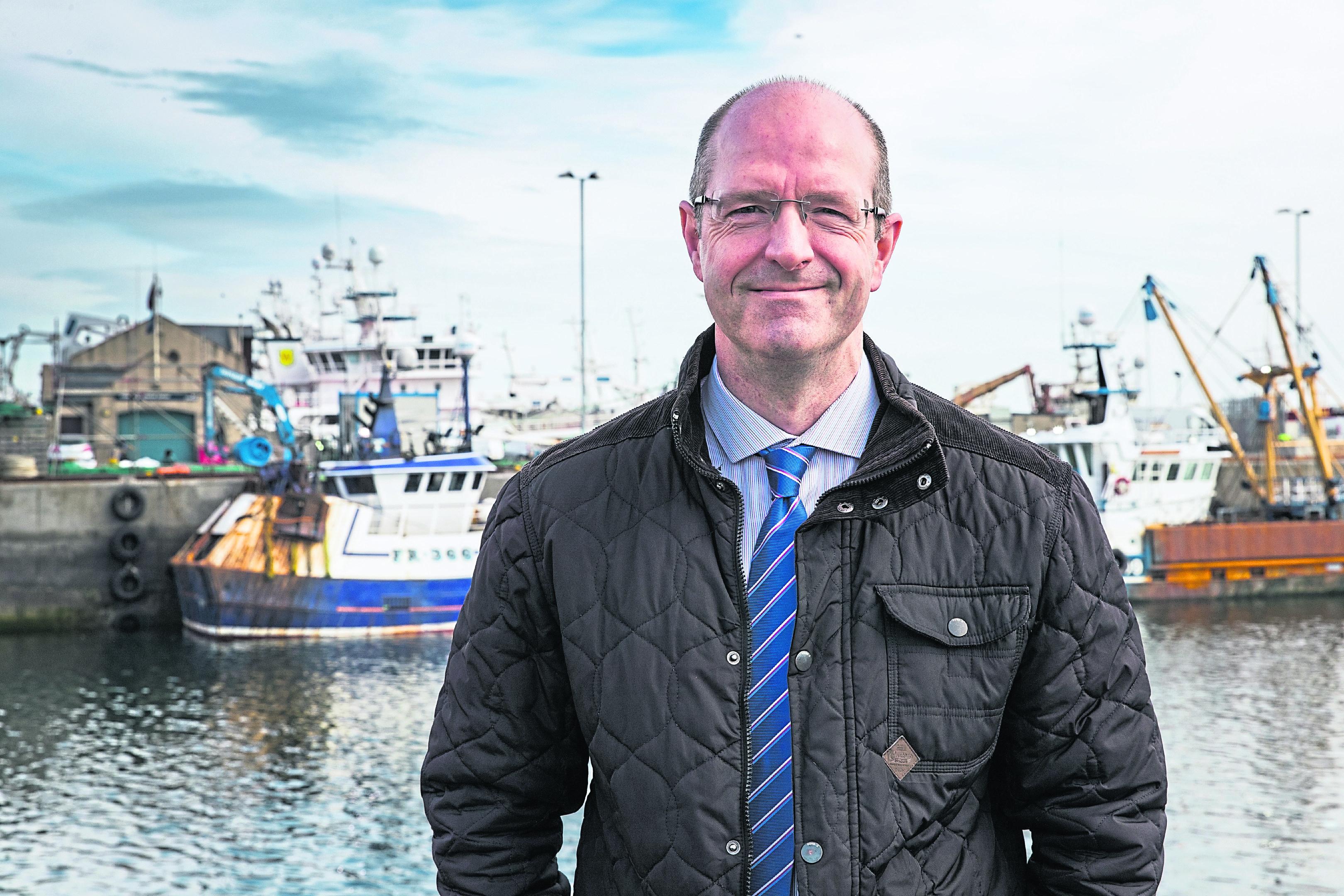 Fraserburgh Harbour chairman Michael Murray.