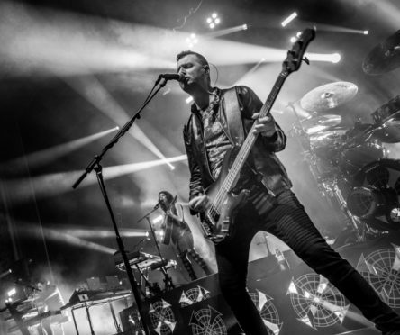Fans are being asked for their memories of Simple Minds. Pic: Ged Grimes.