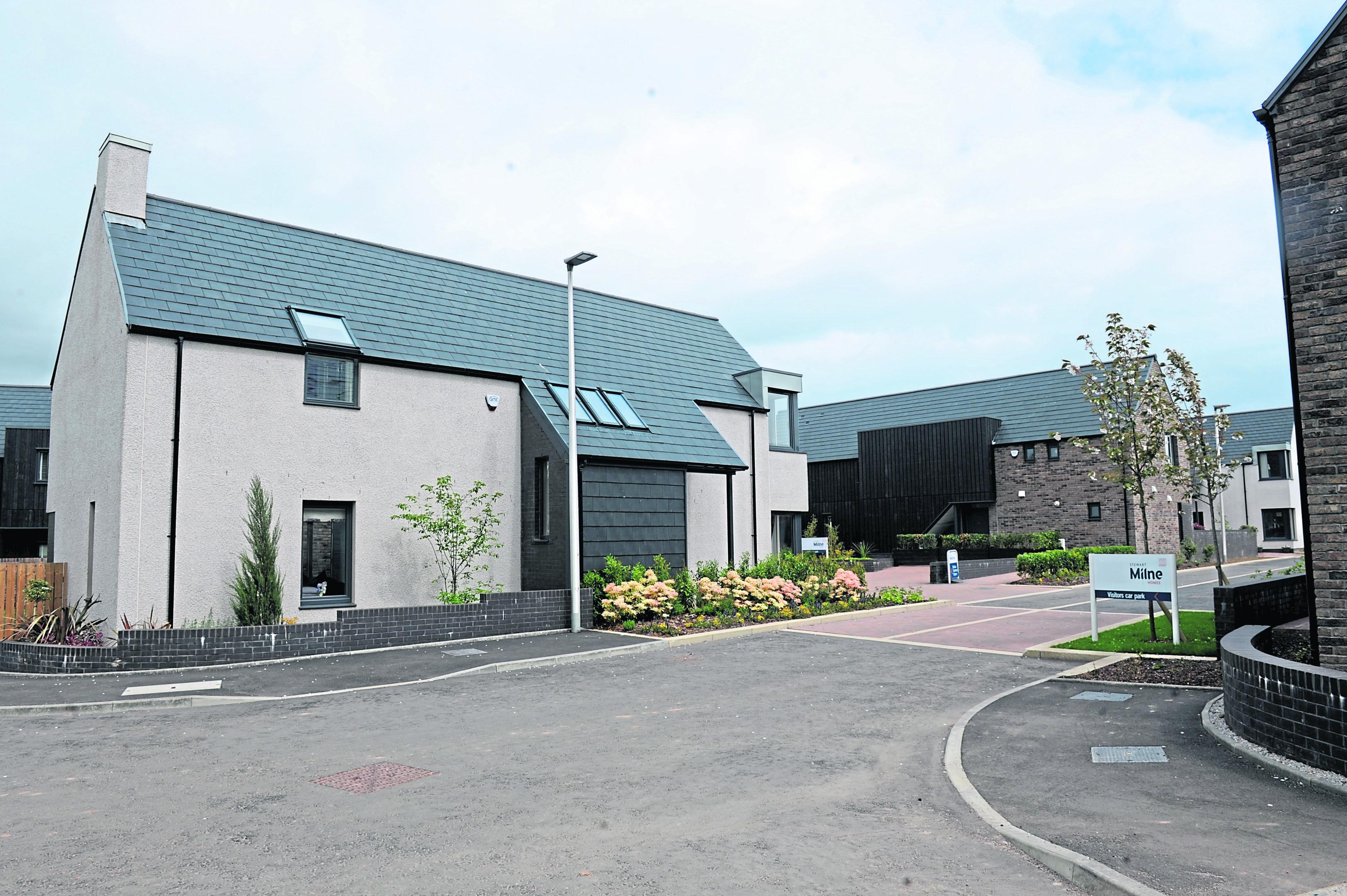 Stewart Milne Homes development of Dunnottar Park.