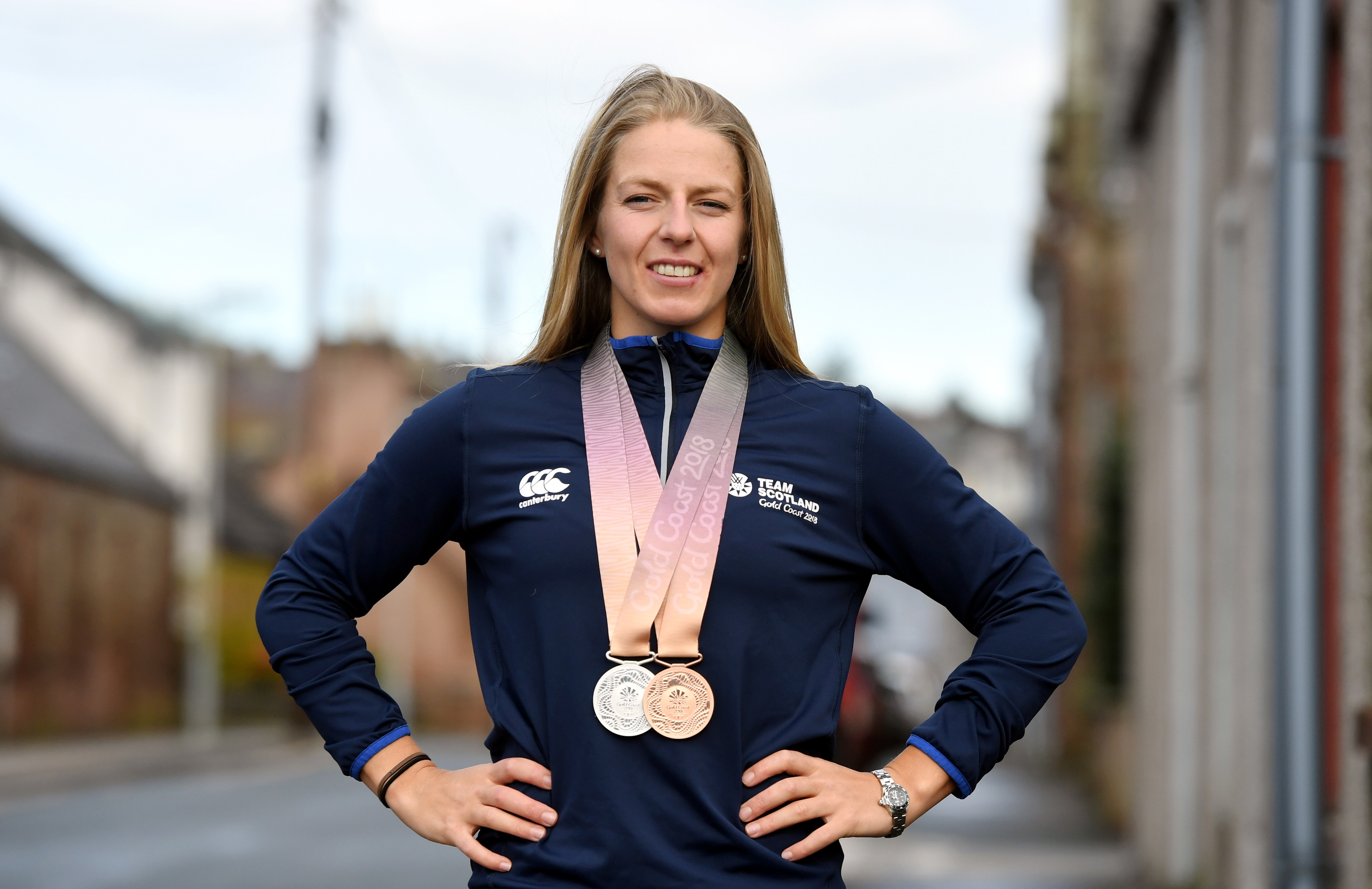 Evans is a double medallist from the Commonwealth Games in 2018.