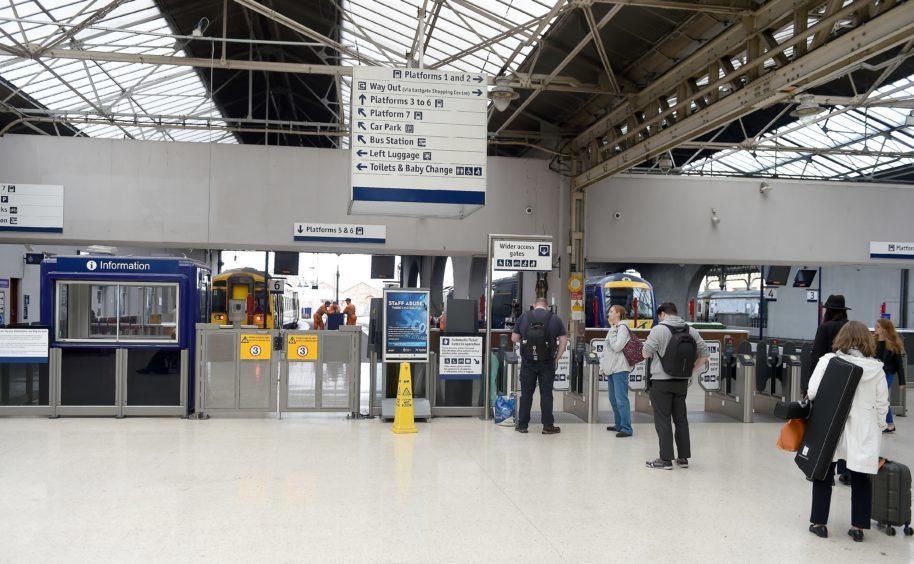 Inverness Railway Station