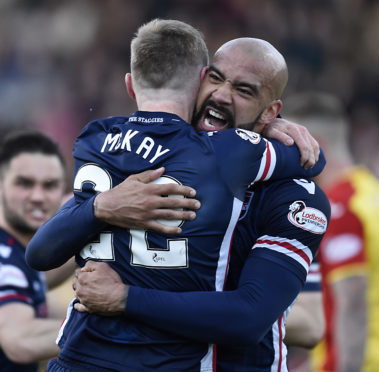 Ross County's Liam Fontaine has released his first single.