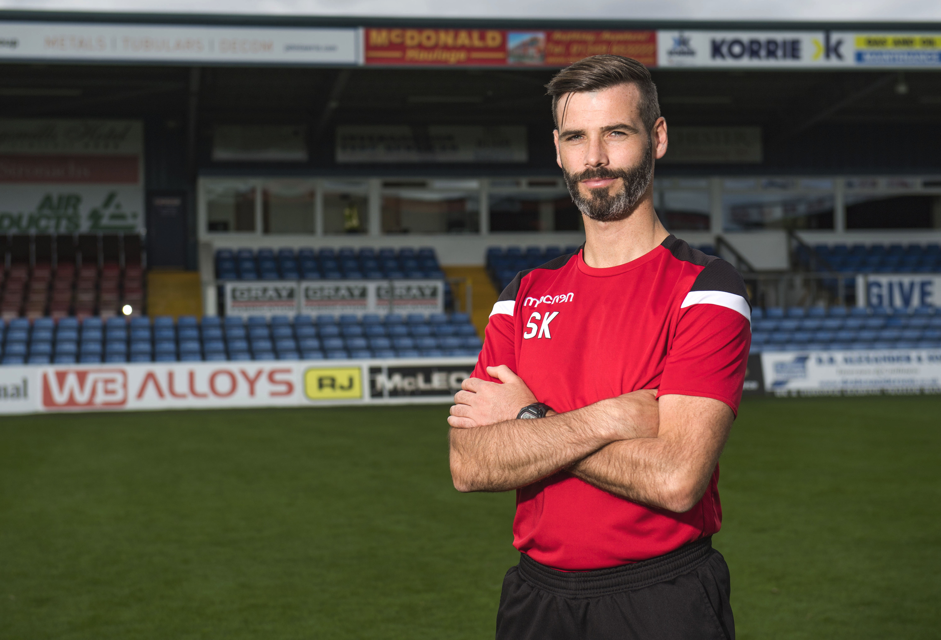 Ross County co-manager Stuart Kettlewell.