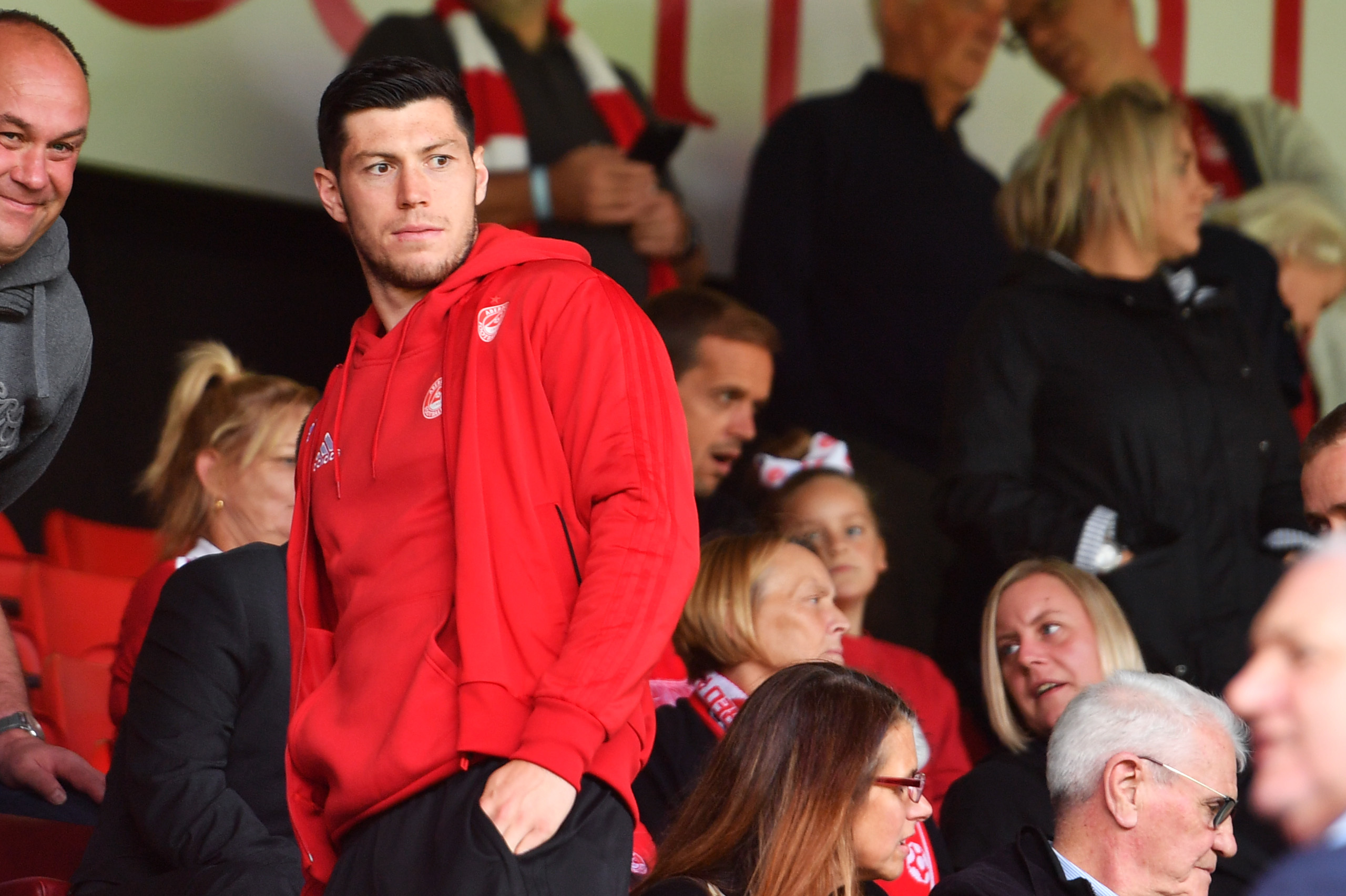 Scott McKenna has missed time due to a hamstring injury and suspension this season.