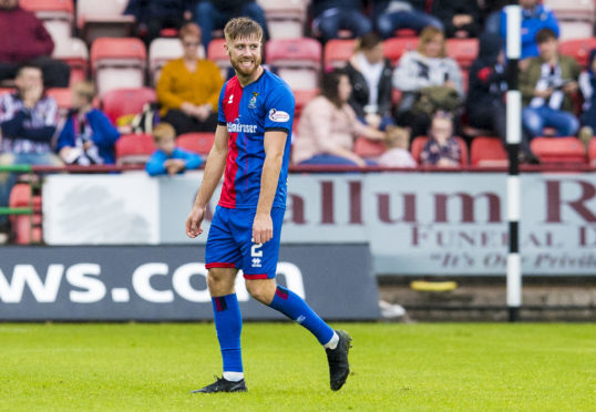 Caley Thistle defender Shaun Rooney.