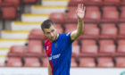 Former Caley Thistle midfielder Liam Polworth was wanted by John Hughes for Ross County.