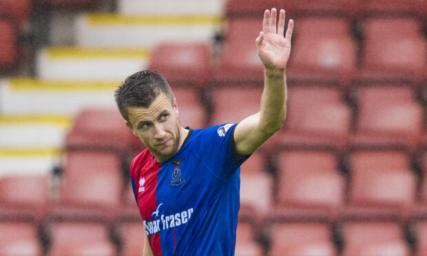 Former Caley Thistle midfielder Liam Polworth looks set to join one of ICT's rivals, Kilmarnock.