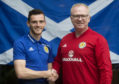 Andy Robertson was named Scotland captain yesterday.