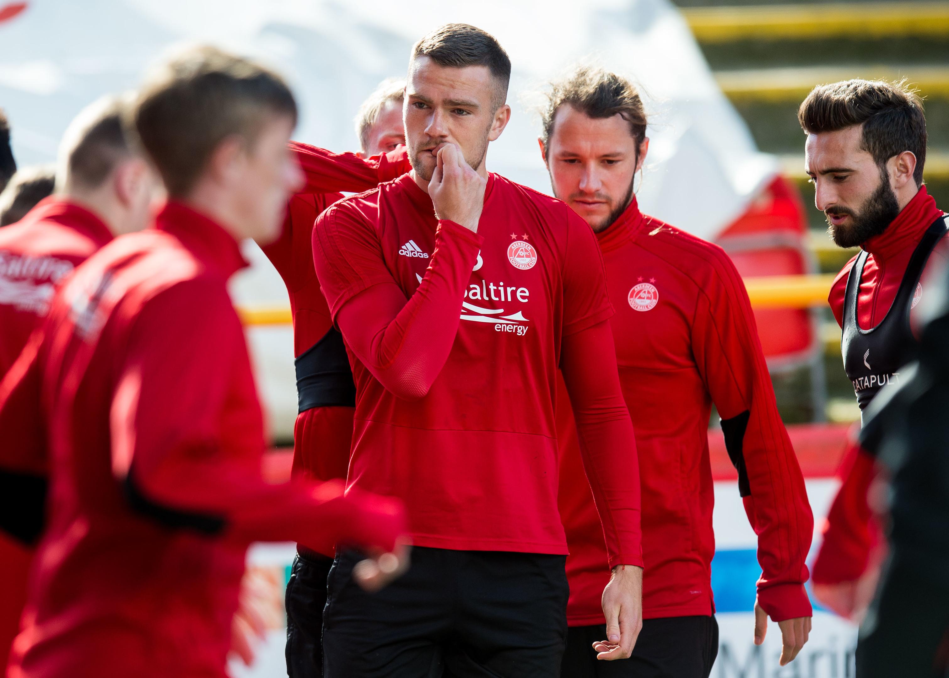 Mikey Devlin wants to be part of an Aberdeen semi-final side.