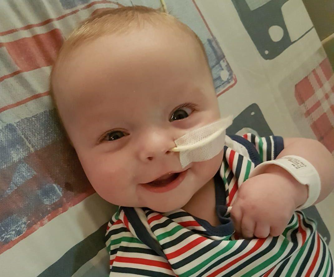 Five month old Thomas Sim