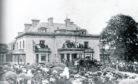 Old footage of Grant Lodge, Elgin.