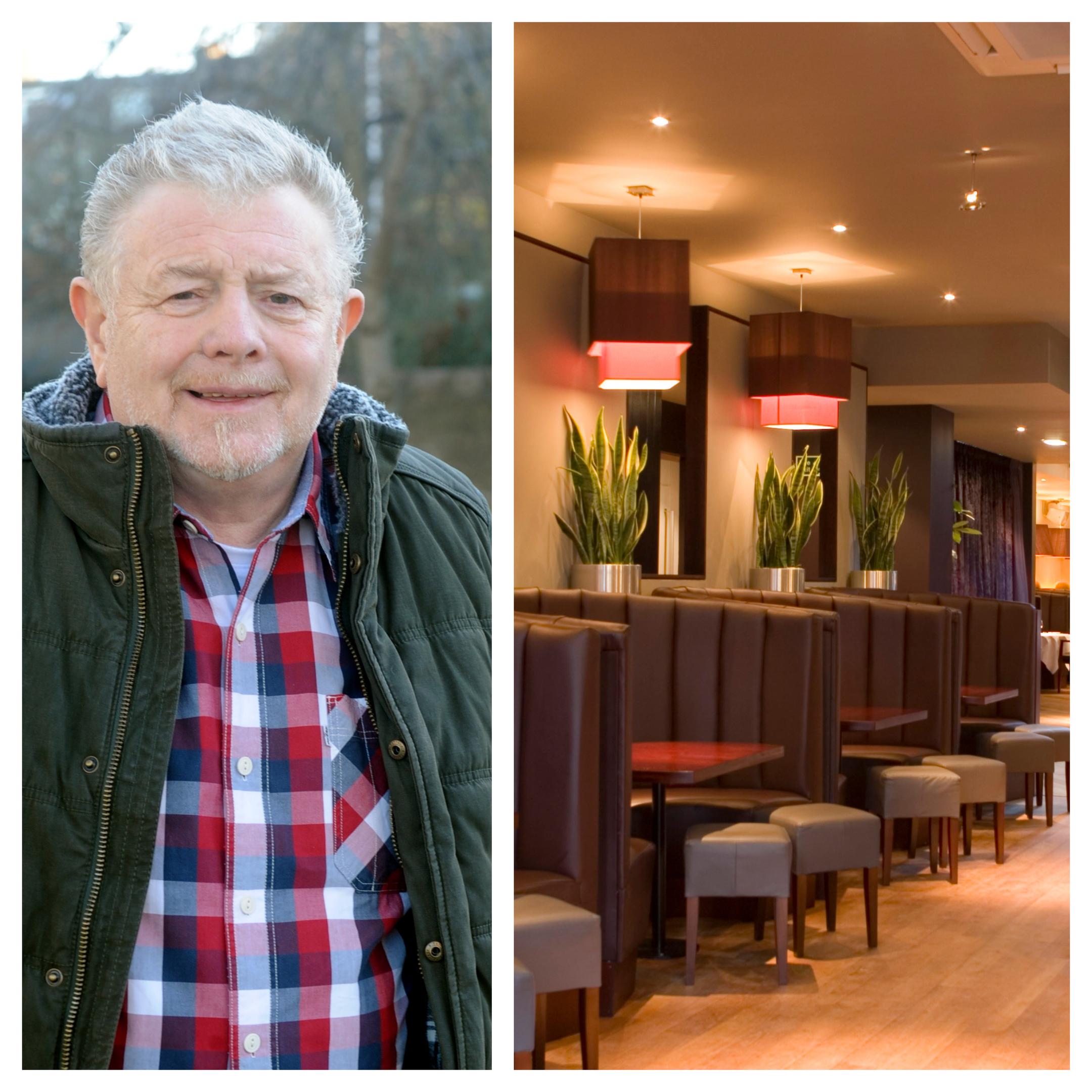Alister Mackinnon and the former Albyn nightclub.