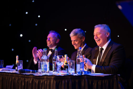 Ally McCoist co-hosted the 2018 Simmons & Company Ltd Sportschallenge at the AECC.
