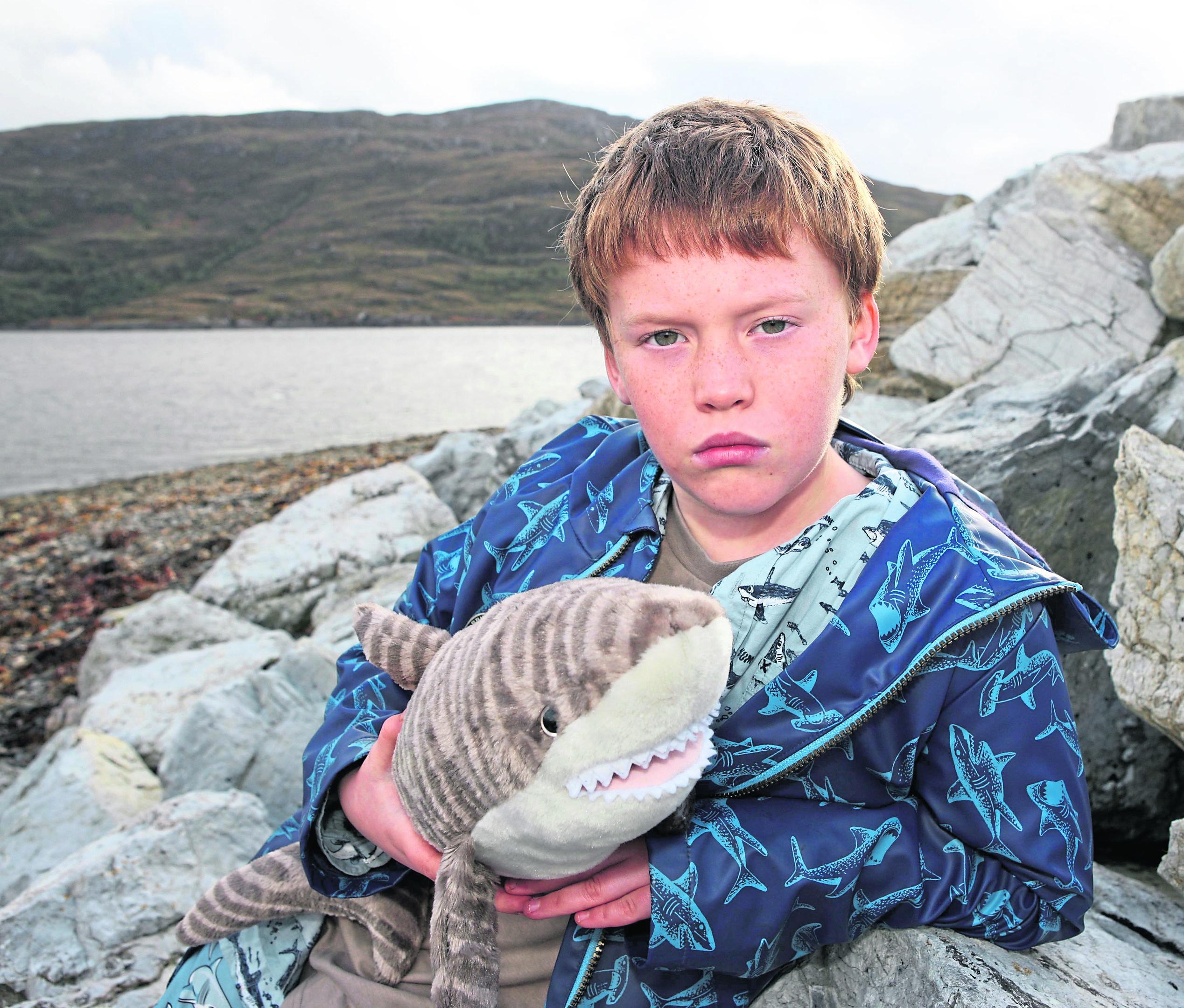 Finlay Pringle (11) from Ullapool.