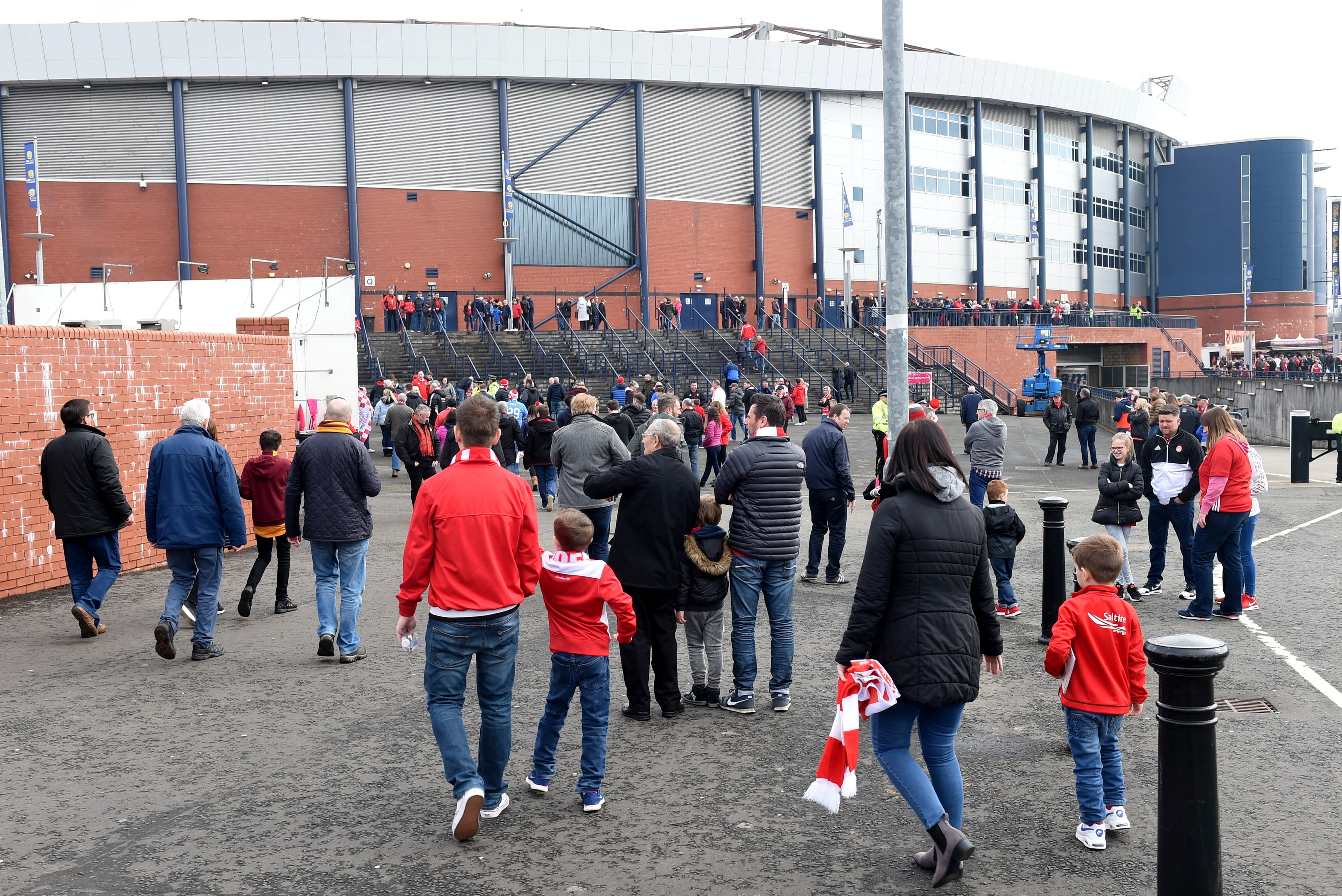 Aberdeen fans may not have to face a noon kick-off for their Betfred Cup semi-final.